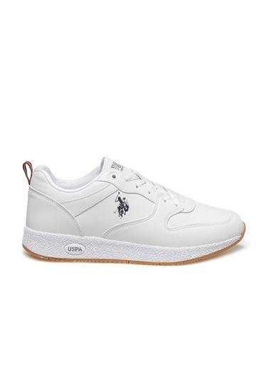 U.S. Polo Assn. Angel Erkek Sneaker Ayakkabı Beyaz